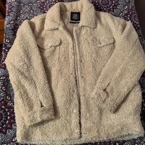 Urban Outfitters sherpa trucker jacket